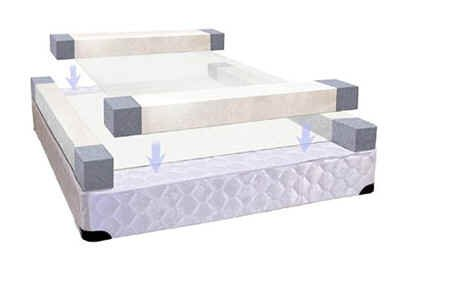 "15"" Twin XL 50 Number Adjustable Sleep Air Bed Mattress"