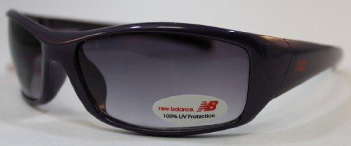 NBSUN372-3 NBSUN372 Wrap estilo gafas de sol, Color: DKPU