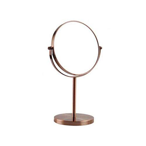 Miroirs de Bureau Vert Bronze Reine Princesse Double-Face Loupe Cosmétique Cinq Couleurs Plus d'options Ultra HD Classique Plus Épais 7/8\