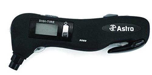 Astro 3088 Digital Pocket Tire Pressure Gauge and Auto Emergency Tool