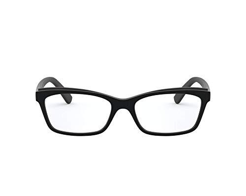 Ralph Lauren Ralph by Brille (RA-7115 5001) Acetate Kunststoff schwarz glänzend - schwarz matt