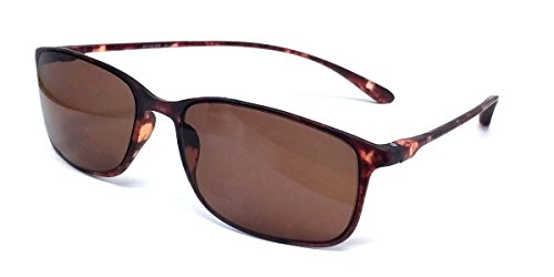 Calabria Reading Sunglasses - 720T Flexie in Tortoise +0.50
