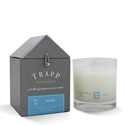 Trapp Signature Home Collection No. 20 Water Poured Scented Candle, 7 Ounce