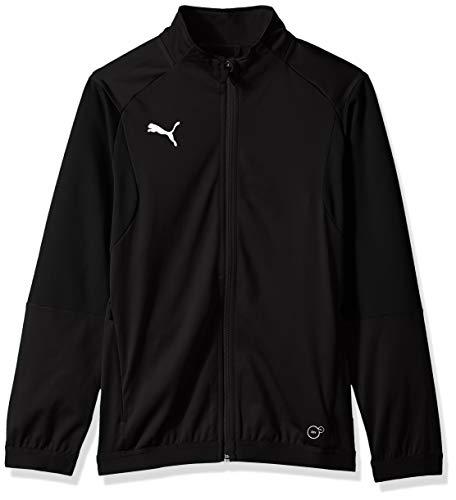 PUMA Men's LIGA Training Jacket JR, Blackpuma White, S