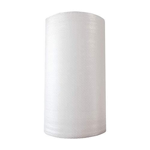 ZS PACK - Rollo de Plastico de Burbujas Para Embalar de 1 Metro de Ancho x 100 Metros Largo - 100 m2 de Papel Burbujas Transparente [Triple Capa & Burbuja Densa - 1cm]