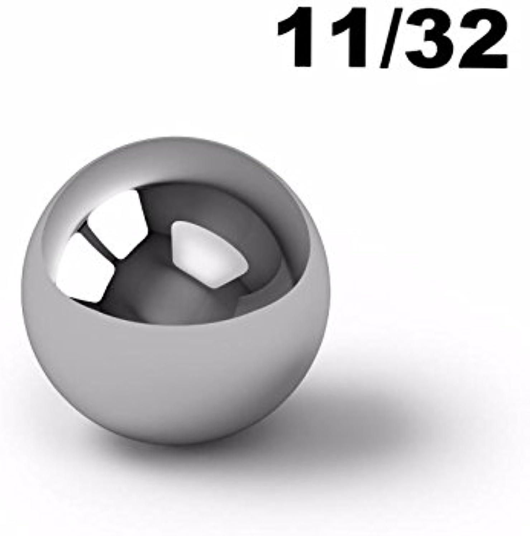 11 32  Inch Chrome Steel Ball Bearings G2520000 Bearings