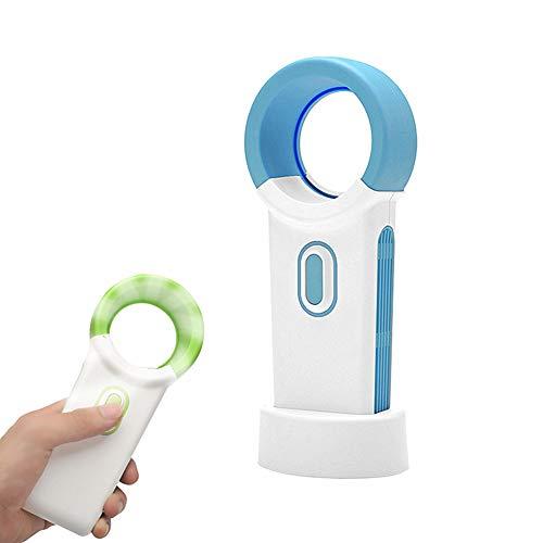 Jjoer Ventilador Silencioso Sin Aspas Ventilateur A Main Portable Ventilador Portatil USB Ventilador Torre Rowenta Mini Ventilador para PortáTil Al Aire Libre