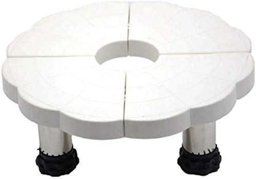 GOG Plegable multifunción portátil plegable Compras, ajustable de la compra del equipo multifuncional con piernas robustas para Secadora de ropa, lavadora y nevera,A
