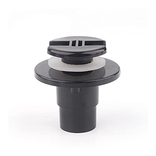 xldiannaojyb 1 UNID PVC 20mm 25 mm Conector de Peces Conector Acuario Codo Recto Tanque de Agua Drenaje Aquarium Agua Entrada Outlet (Color : 20mm Straight(Black))