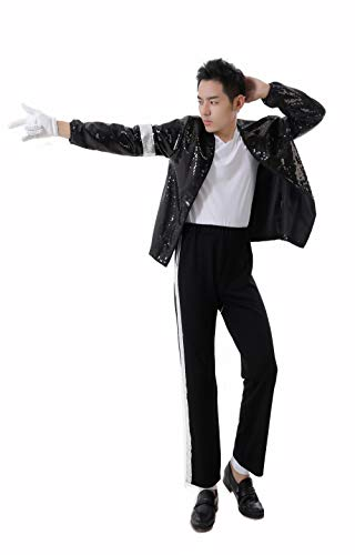 Halloween Cosplay Sets Erwachsene Kind Cosplay Kostüm for Michael Jackson (4pc)