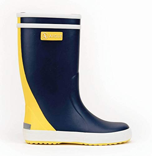 Aigle Lolly Pop Col Indigo/Jaune/Blanc Größe EU 27 Normal