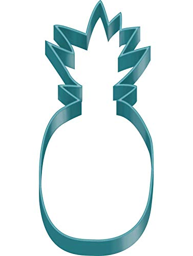 Amscan 9903316 Ausstechform Pineapple Vibes, Türkis