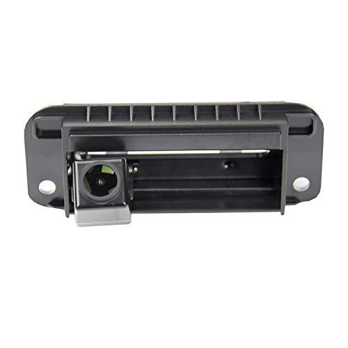 Verbesserte Rückfahrkamera, 1280 x 720p, integrierte Kamera im Kofferraumgriff, Rückfahrkamera für Mercedes Benz W204 W205 C180/C200/C260/C300/S400L/S600L 2009–2013