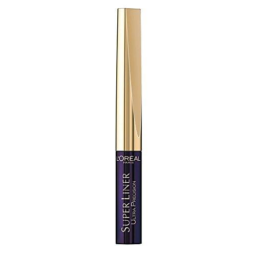 3 x L'Oreal Paris Super Liner Ultra Lasting Precision Tip Eyeliner Purple Black