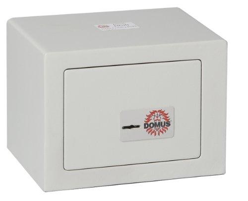 Domus HC/0 Cassaforte a Mobile a Chiave, Grigio Chiaro