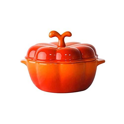SMEJS Naranja Olla, única en su Forma, Lindo y juguetón, fácil de Limpiar, el Medio Ambiente y la Salud