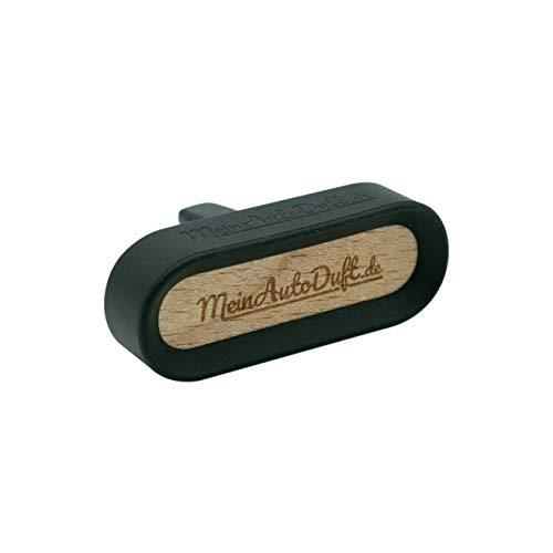 MeinAutoDuft.de Ambientador para coche de madera y silicona, ambientador de coche de alta calidad, con aceites aromáticos, fragancia de coche de larga duración (colonia)