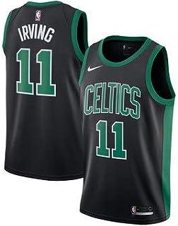 huge discount 9e617 6eeb3 Lalagofe Kyrie Irving, Boston Celtics  11, Basket Jersey Maglia Canotta,  Nero,