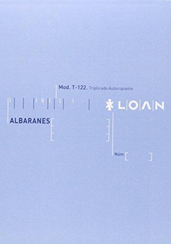 Loan T122 - Talonario, 5 unidades 🔥