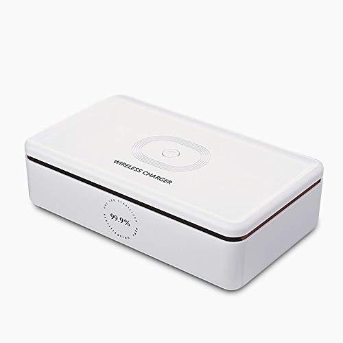 Portatile uvc Sterilizzazione Box Wireless Ricarica UV Sterilizzatori Multifunzionale Abbigliamento Telefono Cellulare Cosmetici Conservazione Scatola Sterilizzatori