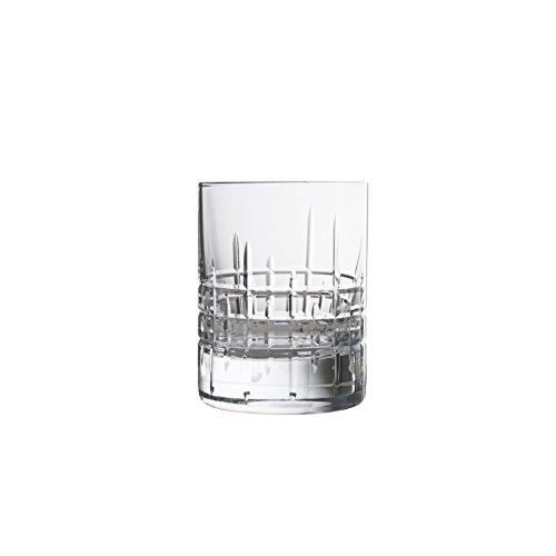 Schott Zwiesel Tritan Crystal Glass Distil Barware Collection Aberdeen Juice/Whiskey Cocktail Beverage Tumblers (Set of 6), 5.1 oz, Clear