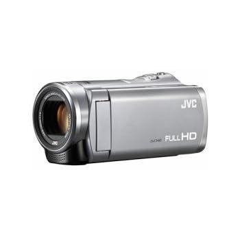 JVC Everio ハイビジョンメモリービデオカメラ 8GB シルバー GZ-E242-S