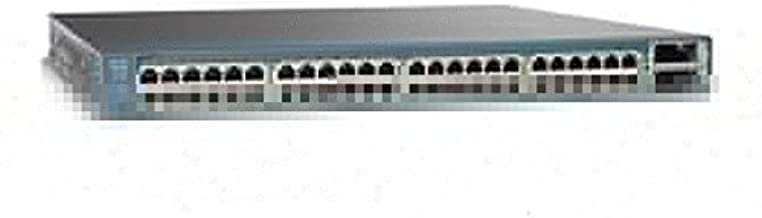 (Certified Refurbished) Cisco WS-C3750E-24PD-S Catalyst 24 10/100/1000 PoE Ports + 2 X2-Based 10 Gigabit Ethernet Ports, 750WAC Power Supply, IP Base Software Feature Set