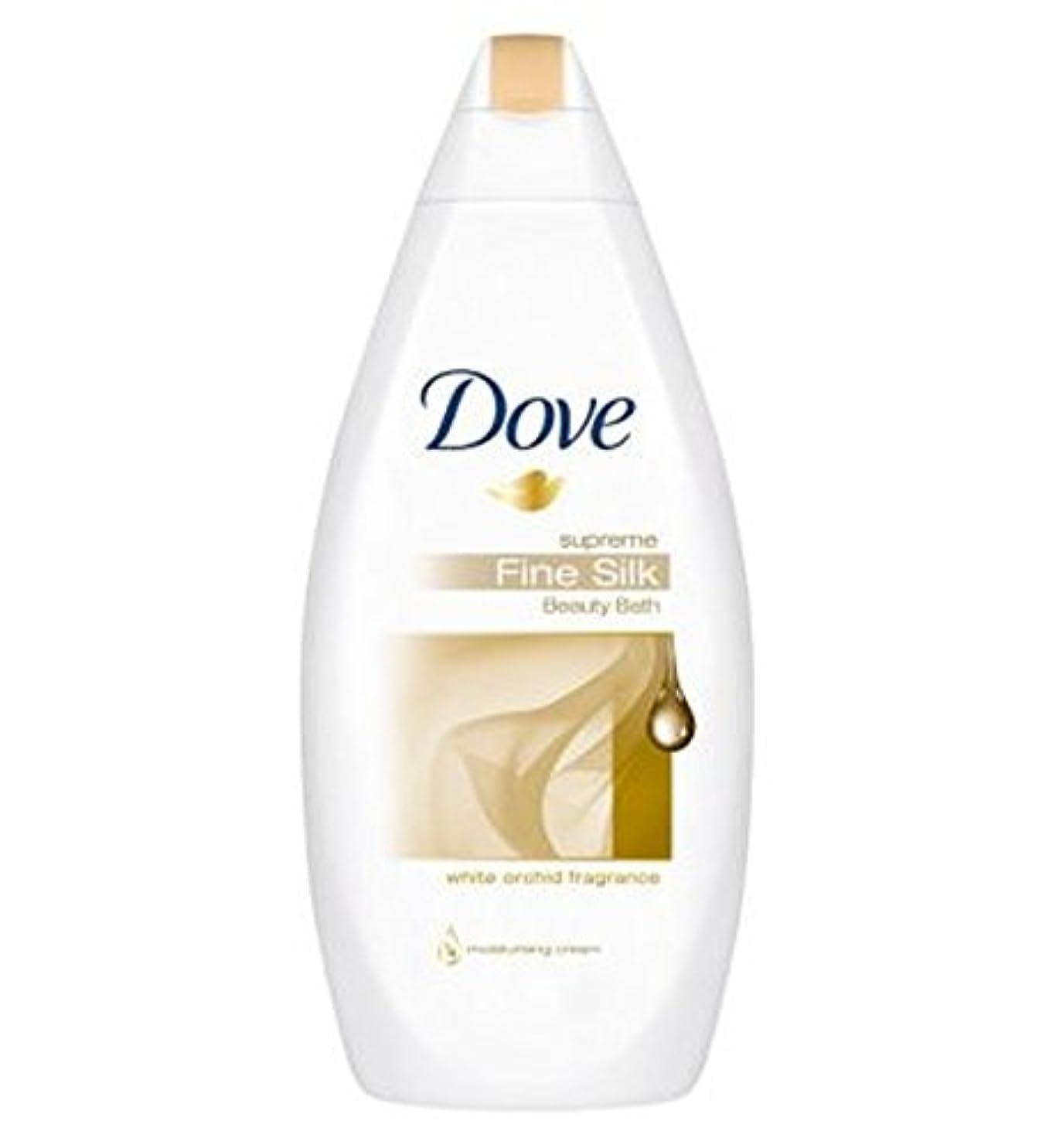 富意気込み親愛なDove Supreme Fine Silk Cream Bath 500ml - 鳩最高の細かい絹クリームバスの500ミリリットル (Dove) [並行輸入品]