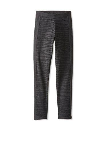 PUMA Damen Hose Pattern Clash Legging - grau - Klein