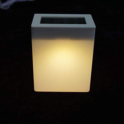 JALAL Outdoor Solar Energy Saving LED Wall Light Garden Fence Lamp Camping Bar Table Lamp