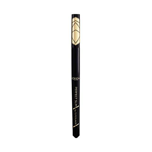 L Oréal Paris Eyeliner in Penna Superliner Perfect Slim, Tratto Preciso, Tenuta Fino a 24H, Colore: Intense Black (01)