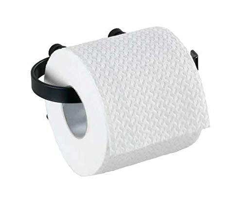 WENKO DIE BESSERE IDEE Dérouleur Papier WC Classic Plus Noir