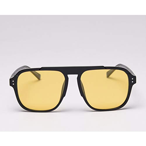 Asdf Polarisierte Farbwechsel Sonnenbrille, Anti-UV-Filter Sonnenbrille, TR90 Kern Leg Transparent Frame Square Driving Einkauf Sonnenbrillen (Color : 2)