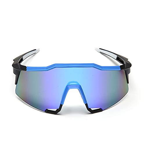 WOXING Polarizadas Unisex Clásico Gafas De Sol,Moda Esquiando Deportivas Gafas,Irrompible Conducen Gafas De Moda,Ciclismo Pesca Conducir Mujer Hombre-E 14.5cm(6inch)