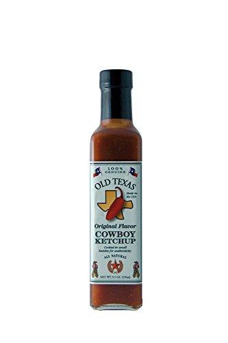 ALL-AUSTRALIAN Grill Sauce Old Texas BBQ Cowboy Ketchup 250 ml