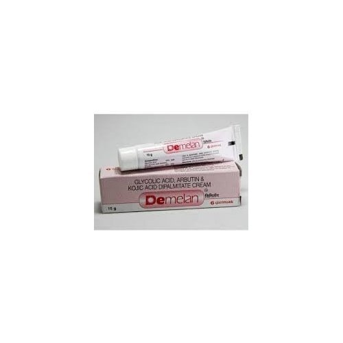 Demelan Cream (Glycolic Acid/Arbutin/Kojic Acid) by glenmark