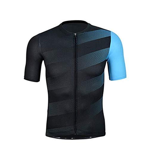 Hombres Ropa de Bicicleta De Manga cortocircuito de la chaqueta de los hombres al aire libre Ciclismo Equipo trajes de verano Bicicleta de montaña Estiramiento alto Agradable para la piel