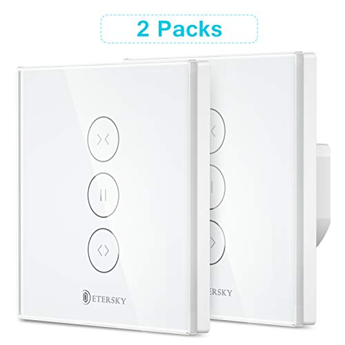 3 Gang App Smart WiFi Rolloschalter Rolladenschalter Touch Switch
