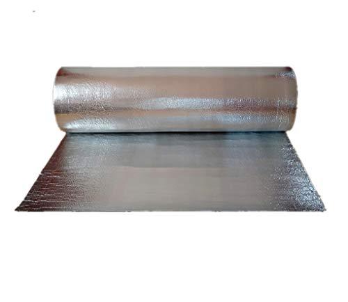 Aislamiento Termico Aluminio Reflexivo multicapa d Rollo Aislante Térmico De Aluminio Autoadhesivo Aluminio Aislante Con Burbujas Lámina Aislante Envoltura Aislante Barrera Térmica Para Ahorro De Ener