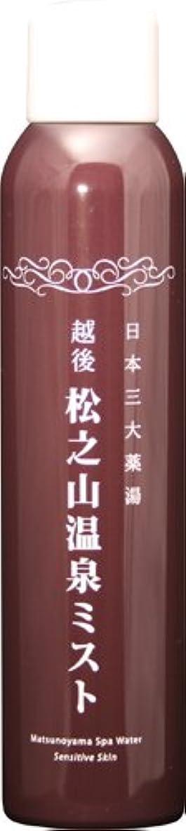 蒸発事インフラ松之山温泉ミスト200g