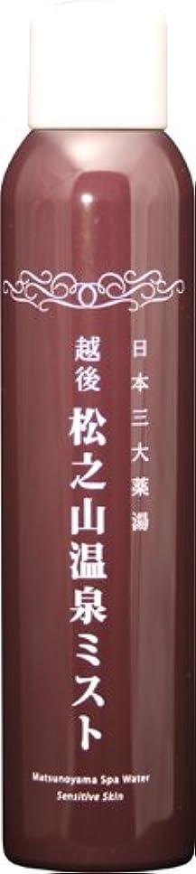 パケット直感に渡って松之山温泉ミスト200g