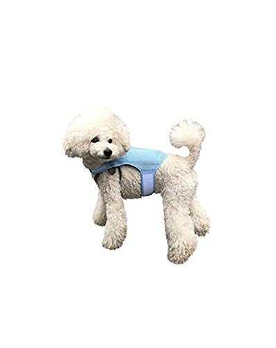 HORAY WORLD Cooling Vest for Dogs, Dog Vest Harness with Innovative Ice Packs for Optimum Temperature & Longer Cooling Time, Prevent Heat-Stroke, Applicable to All Breeds of Canines (Small Size)