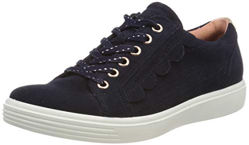 ECCO Mädchen S7 Teen Sneaker, Blau (Night Sky 5303), 39 EU