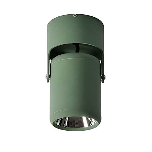 Lámpara de techo LED para el hogar comercial moderno diseño de moda Downlight 360° ajustable techo Downlight/montaje en superficie COB...