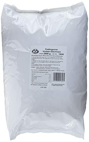 RUF Himbeerpudding-Pulver Großpackung, 1er Pack (1 x 2500g)