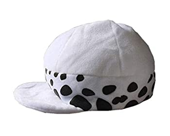 Trafalgar Law Hat Anime One Piece Cosplay Costume for Adult 02