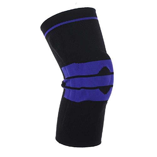N\C Rodilleras deportivas para correr, baloncesto, escalada, equipo protector para deportes, suministros de fitness, color negro L / 1