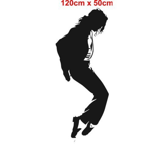FSSS Ltd Michael Jackson Sticker mural en vinyle 50 x 120 cm