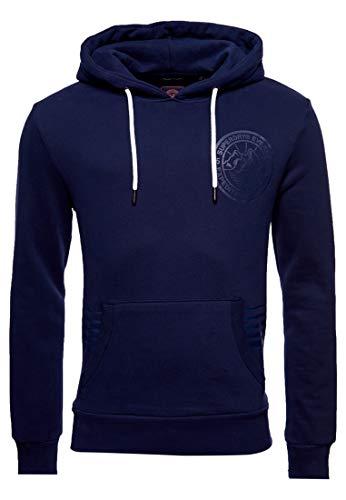 Superdry Herren Everest Hoodie Leuchtendes Marineblau XL
