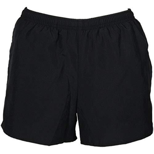ASICS Womens Pocketed Short Athletic Shorts Shorts, Black, XL